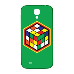 Colorful Cube, Solve It! Samsung Galaxy S4 I9500/i9505  Hardshell Back Case by ContestDesigns