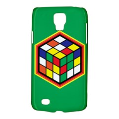 Colorful Cube, Solve It! Samsung Galaxy S4 Active (i9295) Hardshell Case