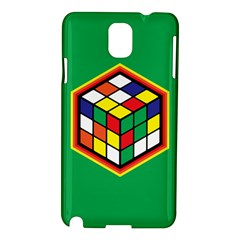 Colorful Cube, Solve It! Samsung Galaxy Note 3 N9005 Hardshell Case by ContestDesigns