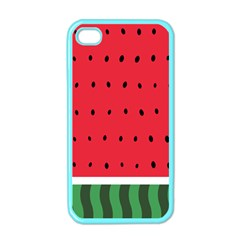Watermelon! Apple Iphone 4 Case (color) by ContestDesigns