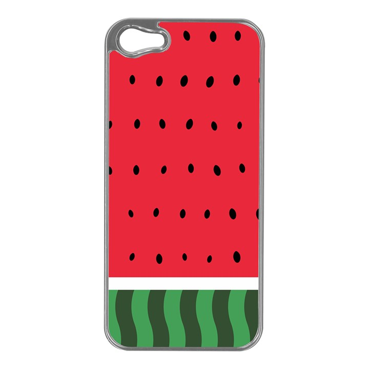Watermelon! Apple iPhone 5 Case (Silver)
