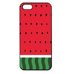 Watermelon! Apple Iphone 5 Seamless Case (black) by ContestDesigns