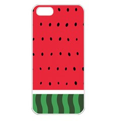 Watermelon! Apple Iphone 5 Seamless Case (white) by ContestDesigns