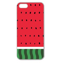 Watermelon! Apple Seamless Iphone 5 Case (clear) by ContestDesigns