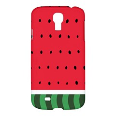 Watermelon! Samsung Galaxy S4 I9500/i9505 Hardshell Case by ContestDesigns