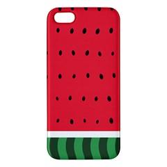 Watermelon! iPhone 5S Premium Hardshell Case by ContestDesigns