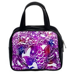 Form Of Auspiciousness Classic Handbag (two Sides) by doodlelabel
