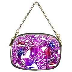 Form Of Auspiciousness Chain Purse (two Sided)  by doodlelabel