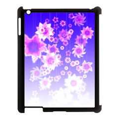 Midnight Forest Apple Ipad 3/4 Case (black) by doodlelabel
