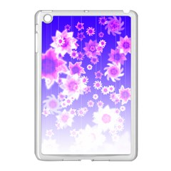 Midnight Forest Apple Ipad Mini Case (white)