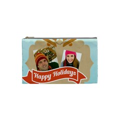 Merry Christmas By Merry Christmas   Cosmetic Bag (small)   94o8wz6n3biz   Www Artscow Com Front