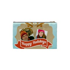 Merry Christmas By Merry Christmas   Cosmetic Bag (small)   94o8wz6n3biz   Www Artscow Com Back