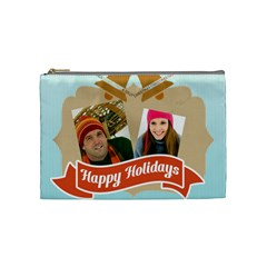 Merry Christmas By Merry Christmas   Cosmetic Bag (medium)   Bai3h6ghmqah   Www Artscow Com Front