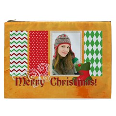 Merry Christmas By Merry Christmas   Cosmetic Bag (xxl)   K6hpko13kigh   Www Artscow Com Front