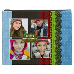 Merry Christmas By Merry Christmas   Cosmetic Bag (xxxl)   E5m5f5dnuygx   Www Artscow Com Front