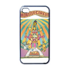 monster circus Apple iPhone 4 Case (Black) by Contest1731890