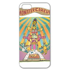 Monster Circus Apple Seamless Iphone 5 Case (clear) by Contest1731890