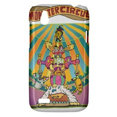 monster circus HTC T328W (Desire V) Case by Contest1731890