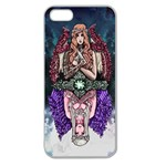 Love and Hate Apple Seamless iPhone 5 Case (Clear) Front