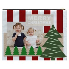 Merry Christmas By Joely   Cosmetic Bag (xxxl)   Jkol25rdgjtu   Www Artscow Com Back