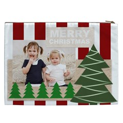 Merry Chsristmas By Joely   Cosmetic Bag (xxl)   9v8hlv8vsjsi   Www Artscow Com Back