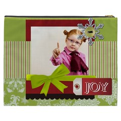 Merry Christmas By Joely   Cosmetic Bag (xxxl)   Ozwhw73li2r9   Www Artscow Com Back