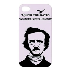 Qouth the Raven...Answer Your Phone. Apple iPhone 4/4S Premium Hardshell Case