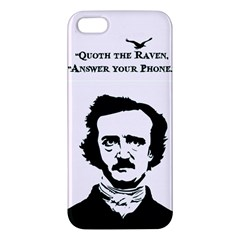 Qouth The Raven   Answer Your Phone  Iphone 5 Premium Hardshell Case