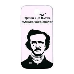Qouth The Raven   Answer Your Phone  Samsung Galaxy S4 I9500/i9505  Hardshell Back Case