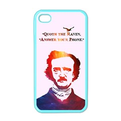 Qouth The Raven   Answer Your Phone (in Color)  Apple Iphone 4 Case (color)