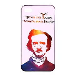 Qouth The Raven   Answer Your Phone (in Color)  Apple Iphone 4/4s Seamless Case (black)