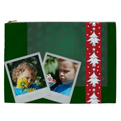 Merry Christmas By M Jan   Cosmetic Bag (xxl)   R7knav4yis7a   Www Artscow Com Front