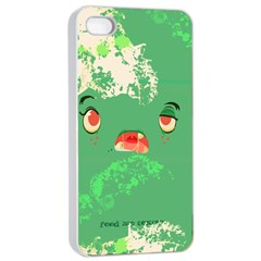 Feed Me Brains    Er, I Mean Texts! Apple Iphone 4/4s Seamless Case (white) by TheTalkingDead