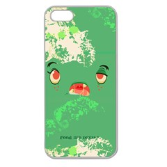Feed Me Brains    Er, I Mean Texts! Apple Seamless Iphone 5 Case (clear)