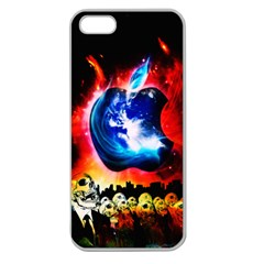 Its An Apple World Apple Seamless Iphone 5 Case (clear) by TheTalkingDead