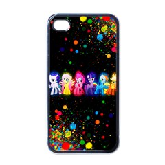 Ponies Apple Iphone 4 Case (black) by TheTalkingDead