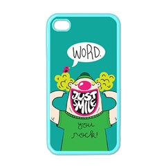 Happy Case Apple Iphone 4 Case (color) by Contest1771648