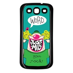 Happy Case Samsung Galaxy S3 Back Case (black)