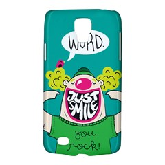 Happy Case Samsung Galaxy S4 Active (i9295) Hardshell Case by Contest1771648