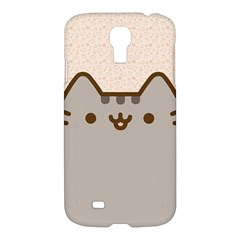 Cute Cat Samsung Galaxy S4 I9500/i9505 Hardshell Case by Contest1747934