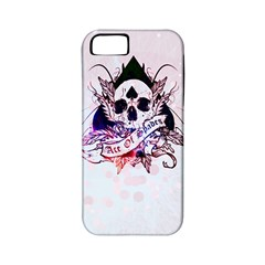 Ace Of Spades Apple Iphone 5 Classic Hardshell Case (pc+silicone)