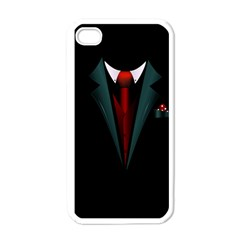 All Dressed Up And No One To Call Apple Iphone 4 Case (white) by TheTalkingDead