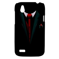 all dressed up and no one to call HTC T328W (Desire V) Case by TheTalkingDead