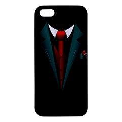 All Dressed Up And No One To Call Iphone 5s Premium Hardshell Case by TheTalkingDead