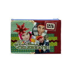 Merry Christmas By Merry Christmas   Cosmetic Bag (medium)   Nr8h16p9mpx3   Www Artscow Com Back