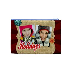 Merry Christmas By Merry Christmas   Cosmetic Bag (medium)   Xrzuntqgyzk0   Www Artscow Com Back