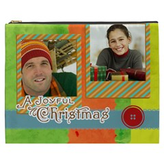 Merry Christmas By Merry Christmas   Cosmetic Bag (xxxl)   Gai25hd160uu   Www Artscow Com Front