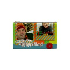 Merry Christmas By Merry Christmas   Cosmetic Bag (small)   Codd2083agcx   Www Artscow Com Front