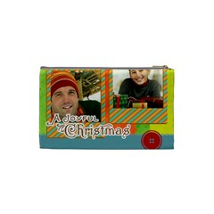 Merry Christmas By Merry Christmas   Cosmetic Bag (small)   Codd2083agcx   Www Artscow Com Back