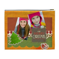 Merry Christmas By Merry Christmas   Cosmetic Bag (xl)   Q3nowhdavcpu   Www Artscow Com Back